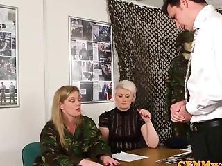 Esercito, Femdom, Milf