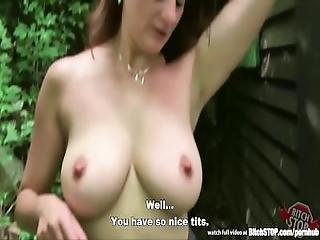 Bitch Stop   Busty Hooker Michala Fucked Outdoor