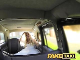 Faketaxi Runaway Bride Needs Big Cock