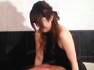 Japanese Mistress Having Fun With Her Slave