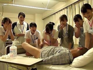 射精病院 看護婦 尻 手コキ フェラ japanese Hospital Nurse Blowjob Big Hip Care