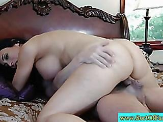 Stepmama Riding Dick In Front Of Her Stepdaughter