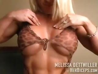 Melissa Dettwiller Pec Flex/boob Bounce