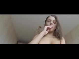 Hot Brunette Teen Getting Fucked Pov