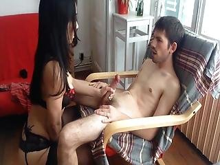 Hot Chinese Milf Riding Cock