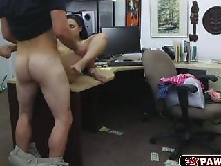 Amber got banged for some cash