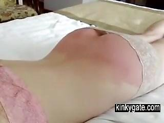 She Undergoes Spanking Without Crying