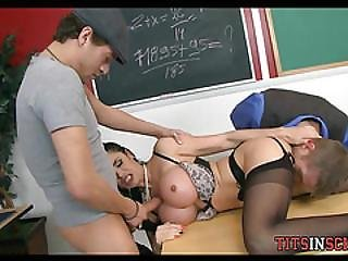 Fantasy At School With Cougar Teacher