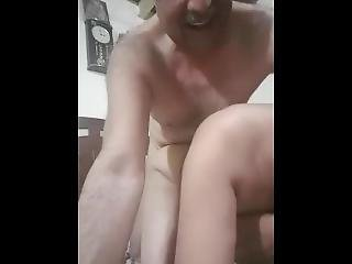 Super Hot Auntie Fucking By Old Uncle