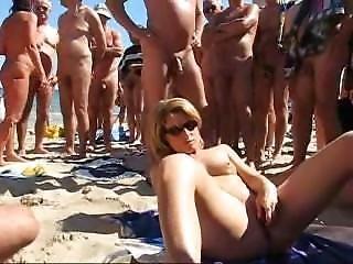 Naomi1 Gangbang Beach