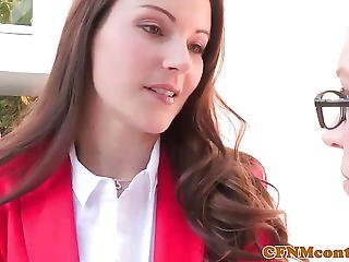 Femdoms Samantha Ryan And Lily Love Fucked