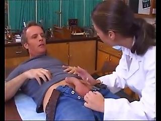 Sexy Lab Girl Uses Her Skills To Get Sperm Sample From Janitor