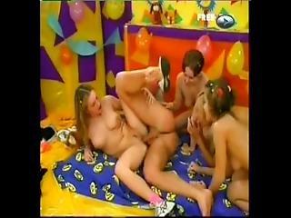 Teen Kristina Lovely Orgy