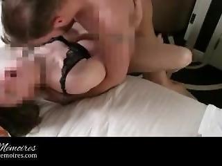 Rough Choke, Spank, Fuck Gorgeous Big Tits, Brunette Sub