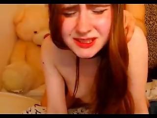 18yo Redhead Teen Fucked Doggy