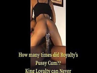Blac Creamy Pussy Royalty Luvz To B Nasty With Loyalty