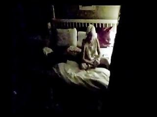 My Hidden Camera Shows That My 50 Year Old Blond Mother Likes To Masturbate A Lot Every Night She Plays With Her Pussy In Bed