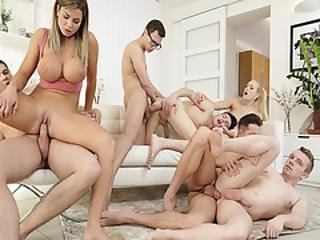 No Cock Or Pussy Will Be Left Untouched In This Hot Bi Orgy