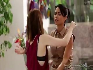 Kinky Teen Lesbian Seduces Asian Milf -sweetheart Video