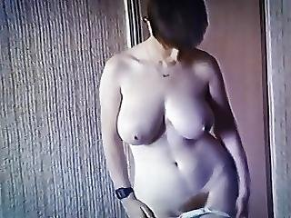 Never Let Me Down - Vintage Big Tits Schoolgirl Strip Dance