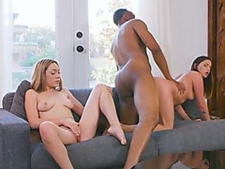 Duo Of Smoking Hot Bitches Want The Horse Sized Dick