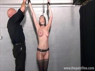 Teen Slave Taylor Hearts Nipple Clamp Punishment And Pussy Torments Of Beautiful Submissive In Hardcore Dungeon Bondage With Her Sadistic Master