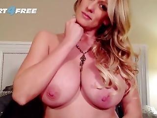 rompe, stor rompe, stor pupp, blond, onanering, milf, pornostjerne, solo, leker, webcam