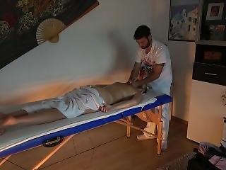 Massage Parlor Hidden Camera - Horny Milf Goes Crazy For Dick