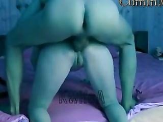 Wife Screaming In Pain From Anal Sex. Husband Cums In The Ass.
