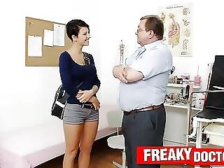 Czech Hottie Nicoletta Emilia Big Natural Tits Check Up