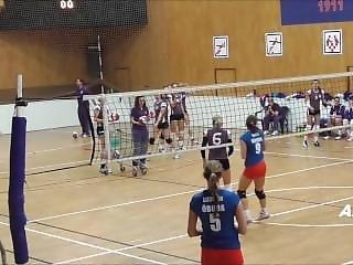 Beautiful College Volleyball Girls