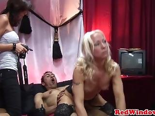 Gorgeous Amsterdam Prostitute Drilled