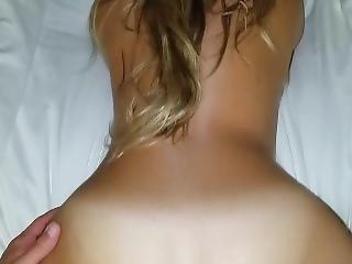 Amateur, Arsch, Fetter Arsch, Blondine, Hintern, Cream, Pov, Sexy, Schlampe