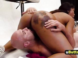 Busty Ebony Teen With A Crave For That Big Dick