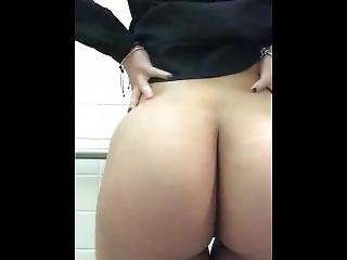 Being A Naughty Slut At Work