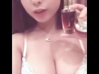 amatoriale, asiatica, coreana, da sola, webcam