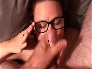 Married Slut Has Her Face Used As A Cum Dump