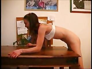 Near Naked Teen Needs To Be Punished Daddi