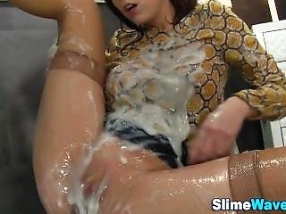 Fetish European Slimed