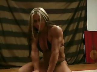 Sultry Muscle Domination