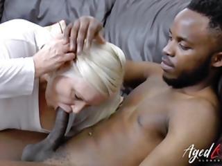 Busty Mature Hardcore Interracial Banging