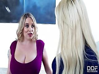 Rich Property Agent Bridgette B Fucks Her Busty Lesbian Client
