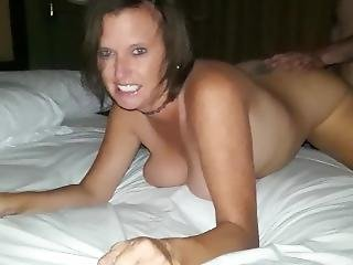 Hot Wife Fucked Doggy By Big Cock Stranger, Watch Eye Contact With Hubby