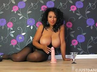 Danica Collins Blows Off Cock