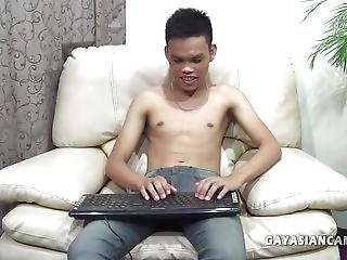 Amateur Asian Boy Jordan Webcam Jerk Off
