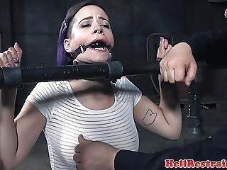 Restrained Submissive Flogging Punishment