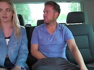 Takevan Busty Pierced Blonde Use Van As Private Bus And Fuck Big Cock Guy