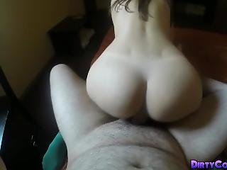 Pantyhose Sexy Ass Girl Fucked Hard And Facial By Old Dude