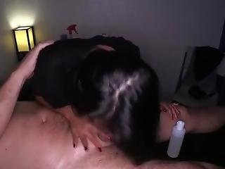 азиатский, минет, мастурбирует, массаж