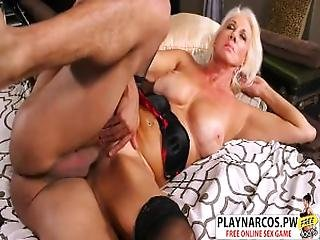 Lovely Mom Madison Milstar Gives Blowjob Hot Touching Friend